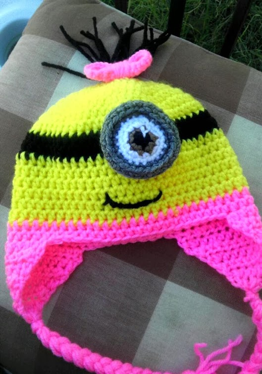 A pink minion. My first. Cute, yes?