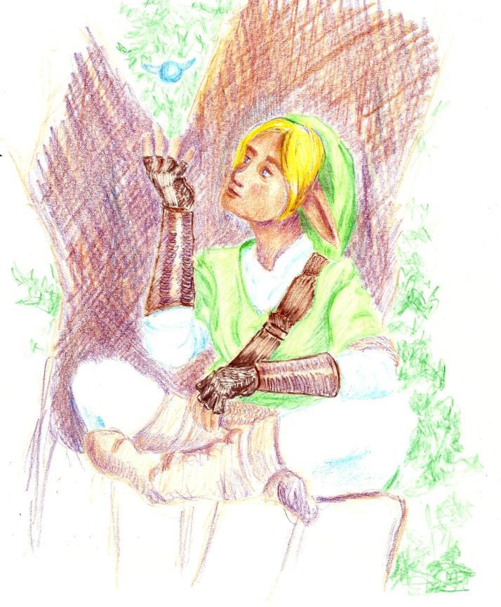 A bit of Zelda fan art thanks to reference from Faestock.