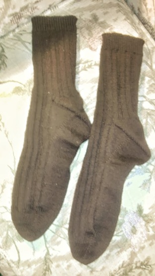 Ribbed socks